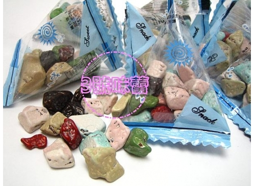 (三角包)石頭巧克力