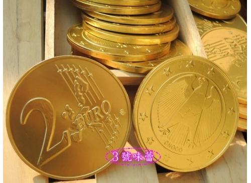 特大獎章金幣巧克力(歐元大金幣巧克力)