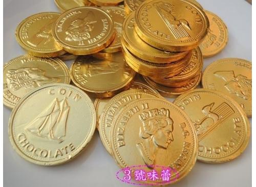 女王巧克力金幣 4c...