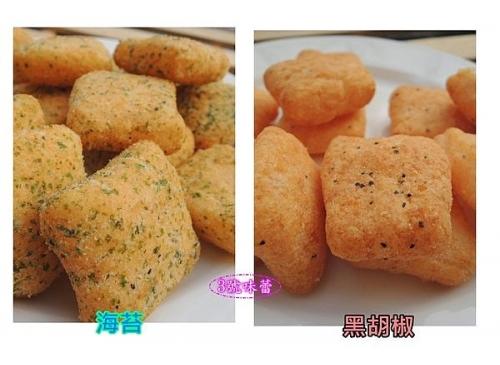 雞塊鬆餅(海苔、黑胡椒、巧克力、芥末)
