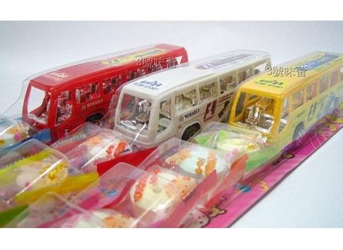 童趣系列 回力巴士玩...