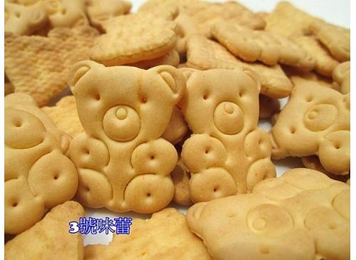 貝貝熊餅乾3000公克  《奶素》