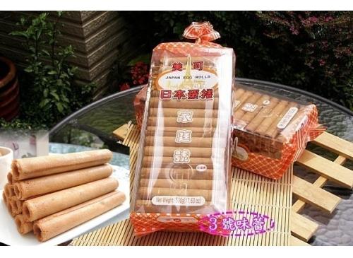 【原封包】美可 日本蛋捲經濟包《蛋素》