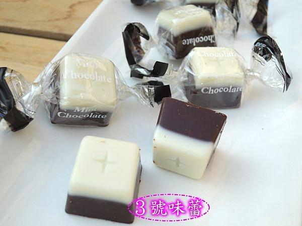 日本 黑白雙色牛奶巧克力 ...代可可脂《奶素》