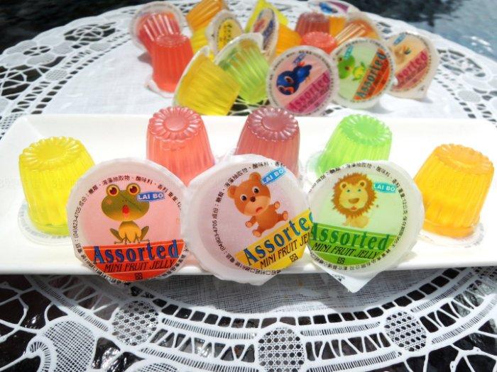 卡通果凍(綜合水果口味)