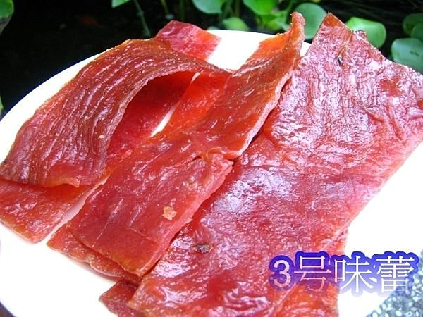 碳烤豬肉切片(蜜汁肉乾)