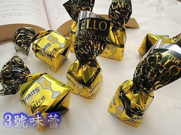 萊卡 檸檬酒巧克力