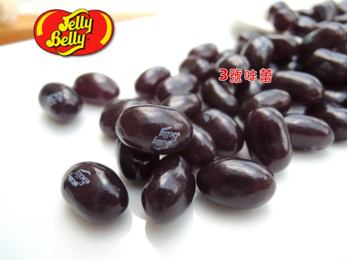 吉力貝Jelly Belly 彩色糖豆軟糖(葡萄)