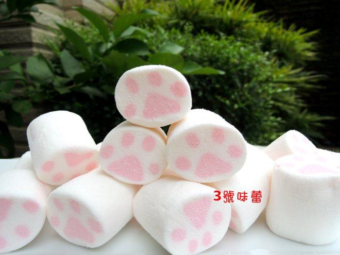 蜜意坊造型棉花糖(TO-146療癒喵爪3CM)