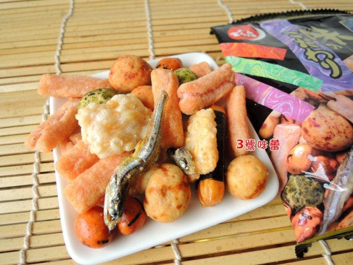 日本傳六什錦豆【北海之味綜合豆餅+好味餅】二色綜合(14包)一袋