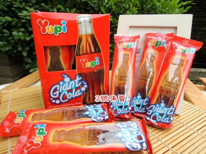 YUPI 呦皮大可樂QQ糖   可樂瓶造型