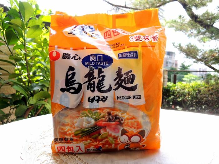 韓國 農心爽口海鮮烏龍麵