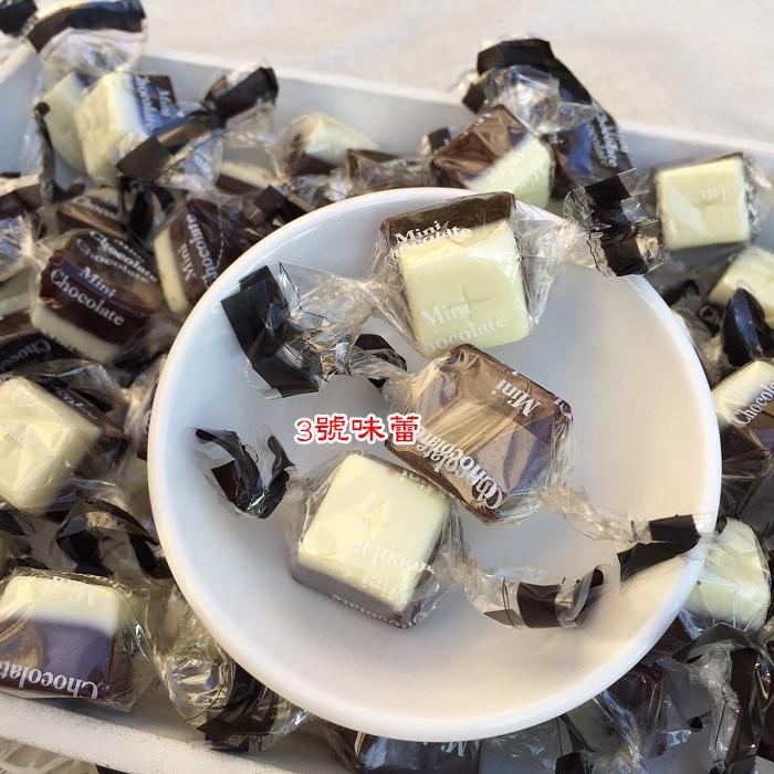 日本 黑白雙色牛奶巧...
