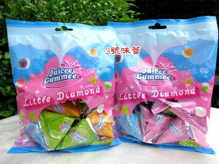 百靈QQ軟糖-小鑽石...