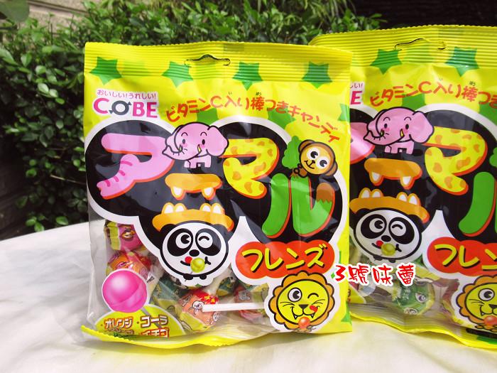 馬來西亞 COBE水果風味棒棒糖150克(15支入)