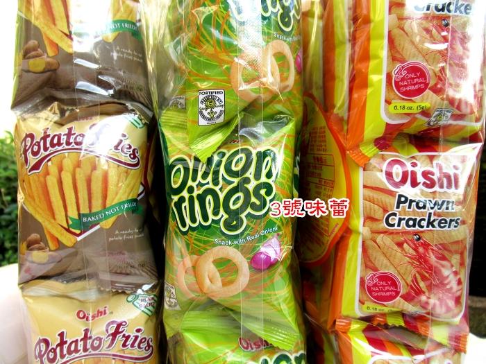 【原封包】上好佳洋蔥圈/薯條/鮮蝦條 90g(18小包)