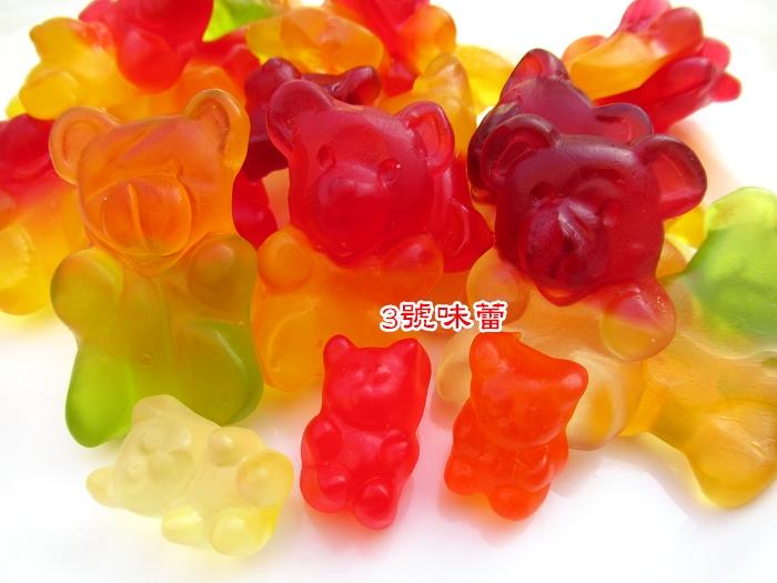 捷克造型QQ(水果熊、4.5CM水果熊)