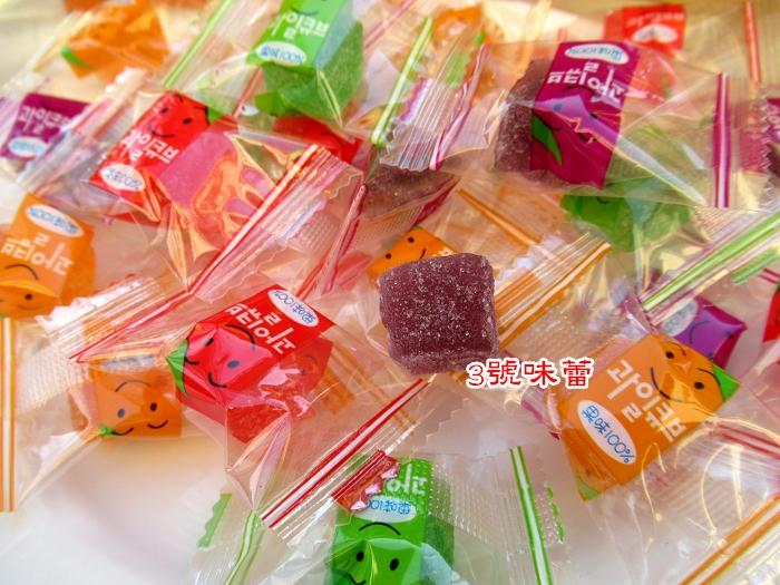 口味百分百水果風味軟...