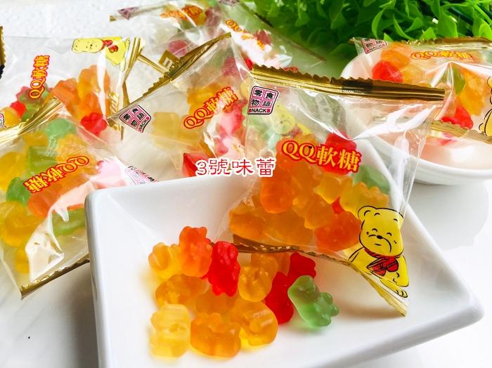 來新金版迷你小熊QQ糖...零食物語