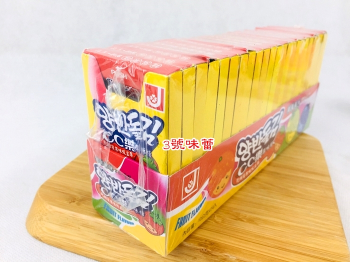 CC樂果味糖一組24盒