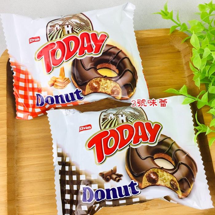 【Elvan】TODAY 太妃甜甜圈 、巧克力風味甜甜圈(24包/盒)