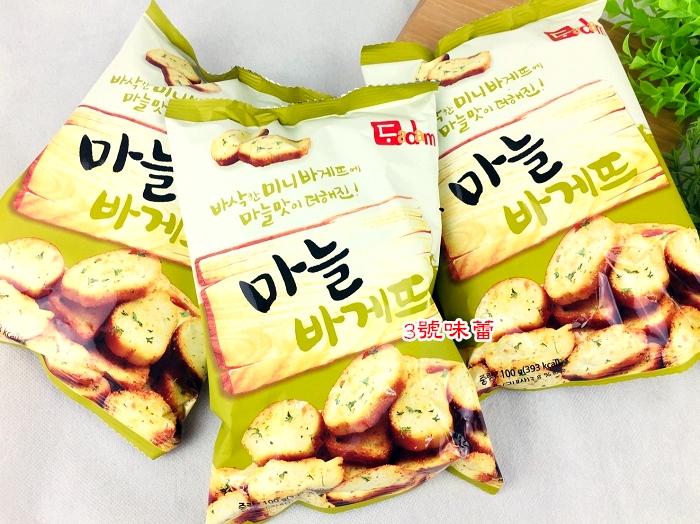 韓國DADAM大蒜麵包100公克