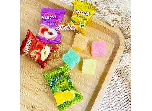和進 鮮彩水果軟糖....